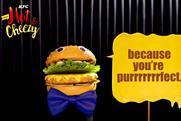KFC Malaysia creates 100 seriously cheezy preroll videos