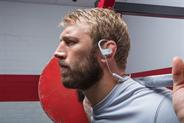 Chris Robshaw: former England rugby captain has featured in Beats by Dre's advertising