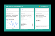 Google introduces voice based search within analytics