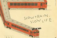 "East Japan Railway Company: ""Slow train, slow life"" by Dentsu won four pencils"