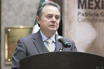 Key supporter… Mexican energy secretary Joaquín Coldwell