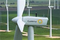 The blade broke off a Gamesa G80 turbine