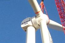 Goldwind's new 2MW machine is now operating