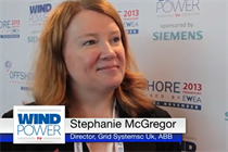 Windpower TV - ABB UK's grid system director, Stephanie McGregor