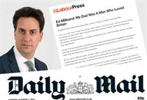 The Daily Mail, Ed Miliband and corporate trolling