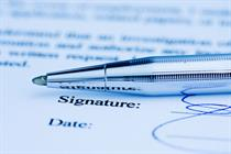 Acceptable behaviour agreement and covering letter