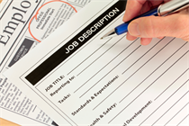 Job descriptions: a vital building block for managing staff