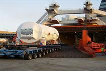 Turbine makers aim to control shipping costs