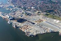 Jack-up load-up at Danish offshore hub