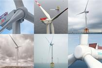 Offshore turbine models -- the magnificent seven