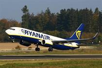 Ryanair increases services on London to Copenhagen route