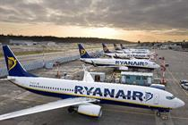 Ryanair to add five routes in Europe