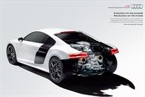 Audi rolls out first augmented-reality ads to promote R8 supercar