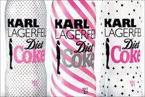 Diet Coke readies Karl Lagerfeld collection