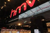 Shrinking DVD and CD sales push HMV into £38.6m loss