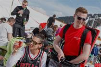 Rekorderlig targets success on the slopes at Snowbombing