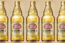 Stella Artois backed to reclaim lost lager drinkers with first cider