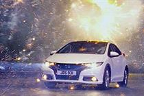Honda backs Civic with £28m 'inspiration' campaign