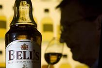 Diageo struggles to profit from increased marketing spend