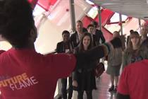 VIDEO: Marketing tours Coke's Beatbox venue at the Olympic Park