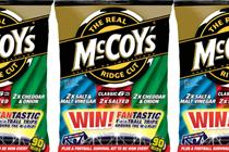 McCoy's launches football promotion with two limited edition flavours