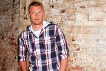 Flintoff to be brand face of oversized clothes