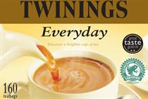 Twinings puts Rainforest Alliance seal on Everyday brand