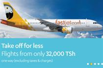 Stelios launches fastjet airline with digital push