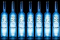 Belvedere illuminates its bottles
