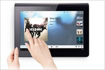 Sony launches its first tablet computers in the UK