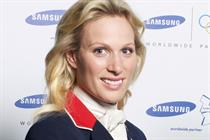 Zara Phillips joins Beckham as Samsung Olympic ambassador