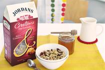 Jordans launches oat granola with £6m ad support