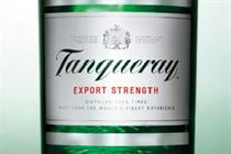 Diageo relaunches Tanqueray gin with return to 1940s-style bottle