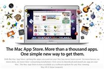 Apple Mac App store hits 100m download mark