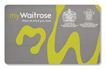Waitrose unveils first loyalty card in strategic shift