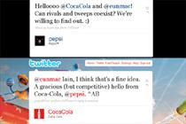 Coca-Cola and Pepsi bury hatchet on Twitter