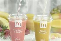 McDonald's rolls out campaign for new iced smoothie
