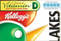 Kellogg's to add Vitamin D and overhaul packaging