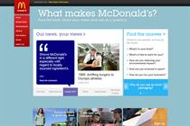 McDonald's launches content portal in latest phase of UK 'McMakeover'