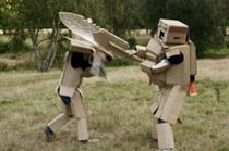 Phones 4u unveils cardboard warrior campaign
