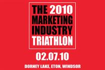Marketing calls for entries to 2010 industry triathlon