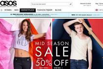 Asos overseas sales overtake UK