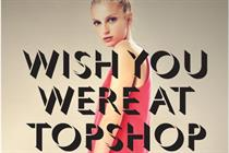 Topshop rolls out in-store digital campaign