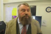 Video: Brian Blessed and Carlsberg brand controller discuss Euro 2012 ad