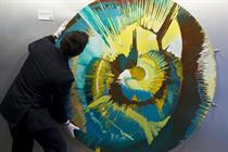 Burger King borrows Damien Hirst artwork to lure Olympic visitors