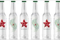 Heineken unveils Facebook competition bottle