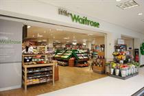 John Lewis opens first in-store 'little Waitrose'