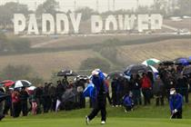 Paddy Power forced to take down Ryder Cup sign