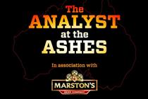 Marston's to brand Telegraph's Ashes coverage