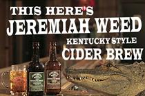 Diageo enters cider market with Jeremiah Weed u-turn